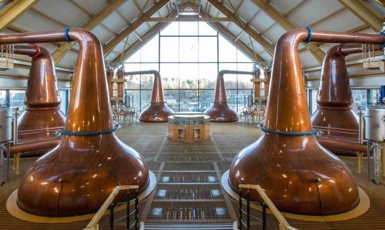 whisky distilleries in Scotland