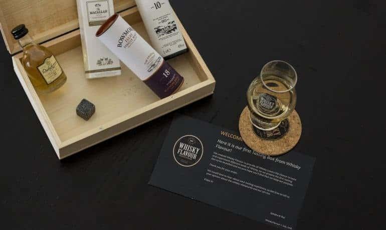 whiskyflavour tasting set