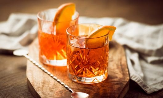 cóctel de whisky