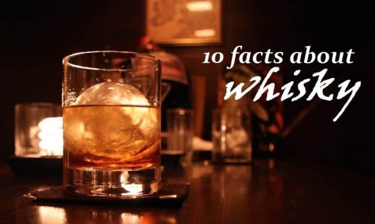 datos sobre el whisky