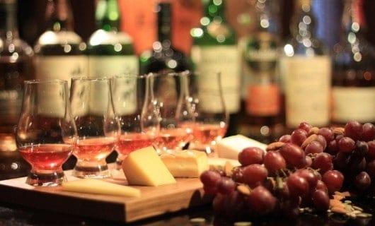 Aperitivos para el whisky