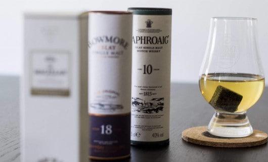 Caja de degustación de suscripción de whisky