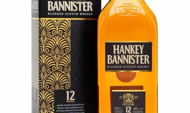 Hankey Bannister Regency 12 years
