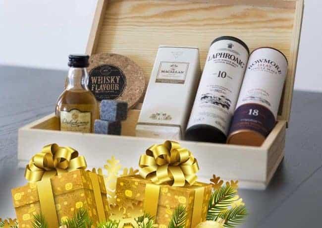 Whisky, el mejor regalo de navidad